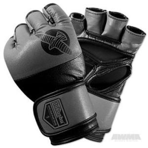 Hayabusa Tokushu Regenesis 4oz MMA Glove – Black/Grey