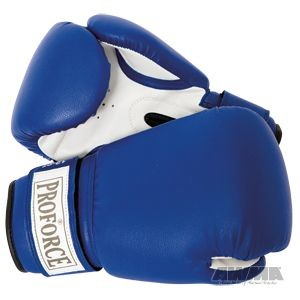 ProForce® Leatherette Blue Boxing Gloves