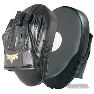 ProForce® Thunder Curved Leather Focus Mitt