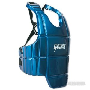 ProForce® Lightning Sports Body Guard – Blue