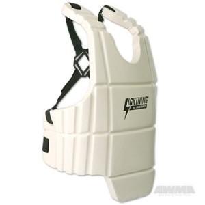 ProForce® Lightning Sports Body Guard – White