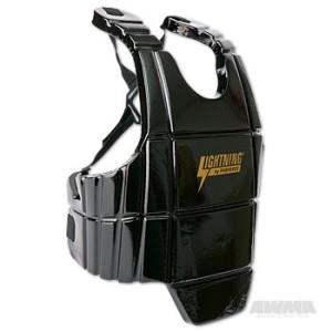 ProForce® Lightning Sports Body Guard – Black