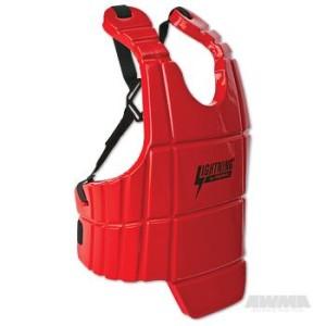 ProForce® Lightning Sports Body Guard – Red
