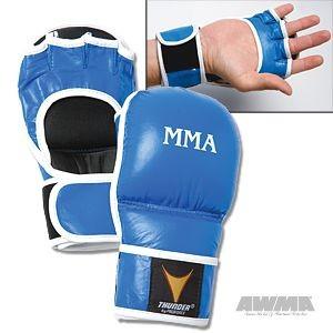 ProForce® Thunder MMA Training Gloves – Blue