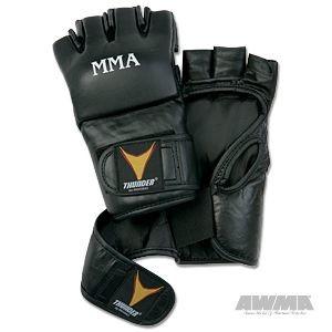 ProForce® Thunder Leather MMA Gloves