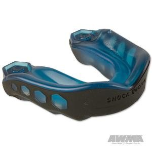 "Shock Doctor ""Gel Max"" Mouthguard – Blue/Black"