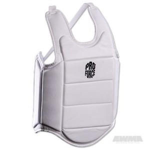 ProForce® Ultra Lite Chest Guard – White