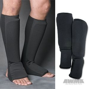 ProForce® Combination Cloth Shin/Instep Guard – Black