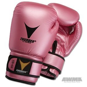 ProForce® Thunder Boxing Gloves – Pink Metallic