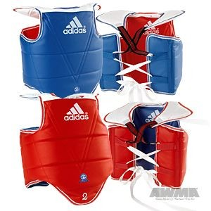 Adidas® Solid Reversible Chest Guard