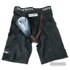 Shock Doctor BasiX Compression Short with Protective Flex Cup