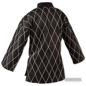 ProForce® Gladiator 8.5 oz. Hapkido Uniform – Black/White