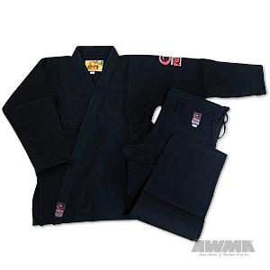 Fuji BJJ Mid-Weight Uniform - Black