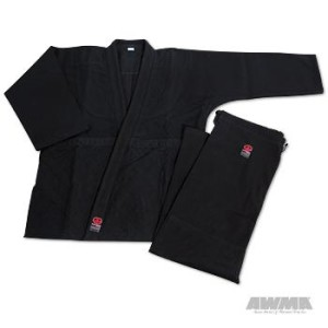 ProForce® Impact Double Weave Judo Uniform – Black