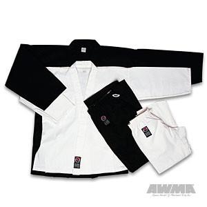 ProForce® 10 oz. Heavyweight Instructor Uniform – White (Elastic Drawstring)