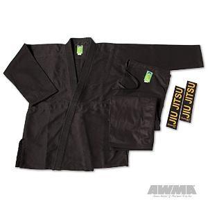 "ProForce® Gladiator ""Pearl"" Jiu-Jitsu Uniform – Black"