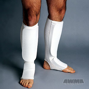 ProForce® Combination Cloth Shin/Instep Guard – White